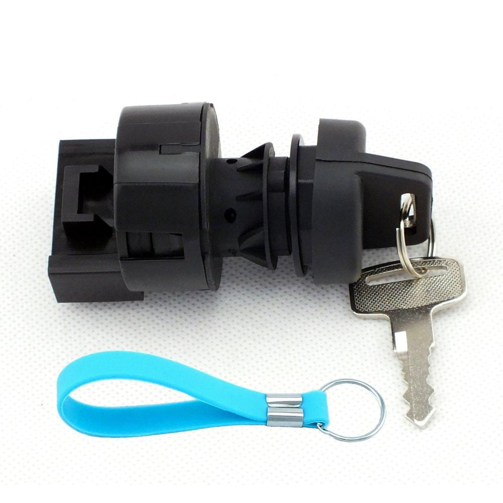 QAZAKY Ignition Key Switch For Polaris Sportsman 600 700 800 850 EFI X2 Forest Touring HO SP EPS MV7 4010390