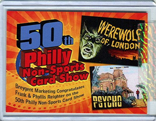 MOVIE POSTERS 2009 50TH PHILLY NON-SPORTS CARD SHOW ANNIV. PROMO 3 # 072 OF 100