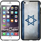 IP6+ Israel Israeli Flag Grunge Iphone 6 Plus 5.5 Inch Case Cover