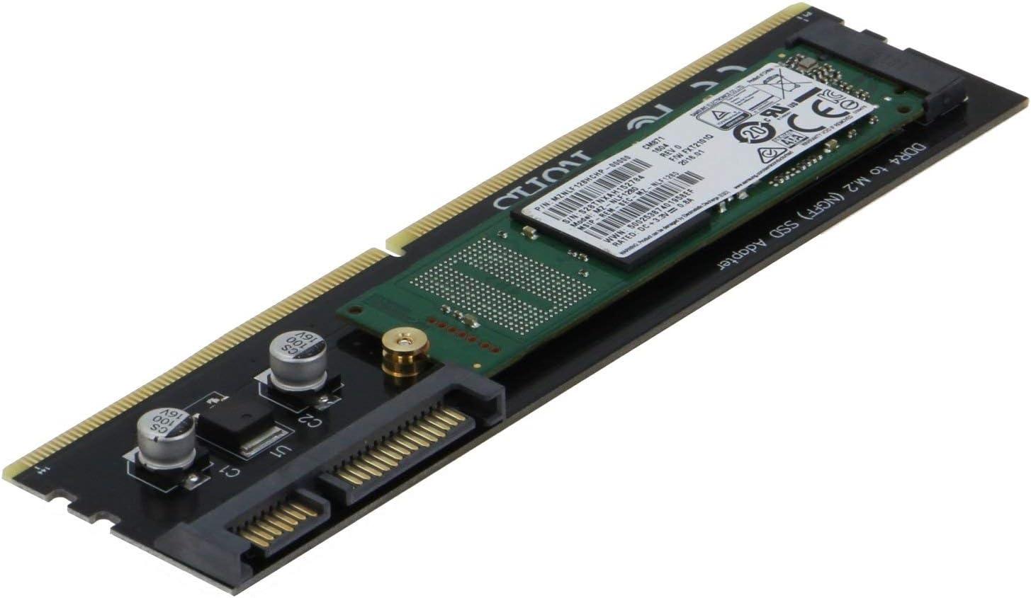 Amazon.com: SEDNA - Adaptador de ranura DDR4 para M2 SSD ...