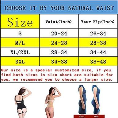 621805c02 Jason   Helen Womens Butt Lifter Shaper Seamless Tummy Control Hi-Waist  Thigh Slimmer