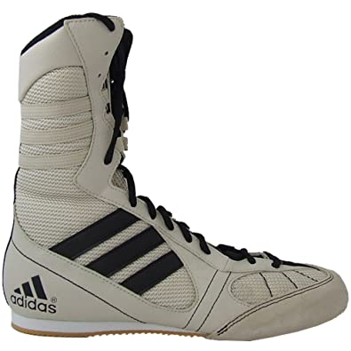 half off 7615b 3ecad Adidas Tygun Boxing Boots Bone   Black - Uk 6.5  Amazon.co.uk  Shoes   Bags