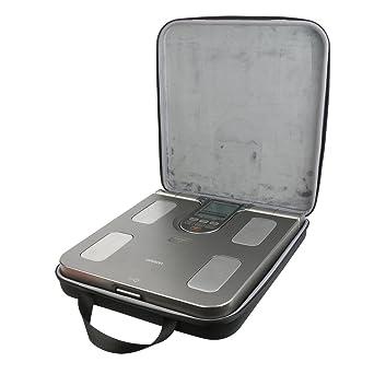 co2CREA Almacenamiento Viajar que Lleva Caja Bolsa Fundas para Omron OM-BF511 Báscula digital medidor