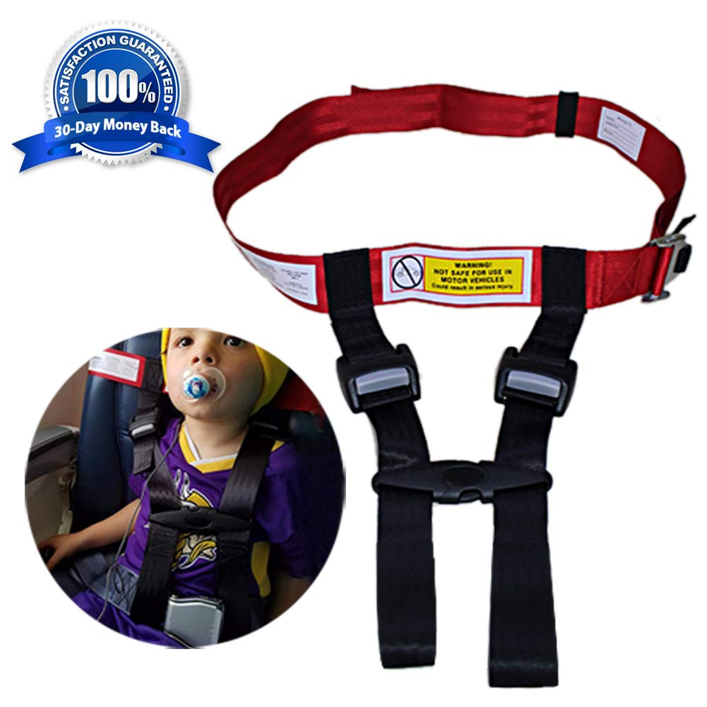 Child Airplane Safety Travel Harness,Care Harness Restraint System-Approved by FAA,Protect Your Child for Airplane Travel Safety