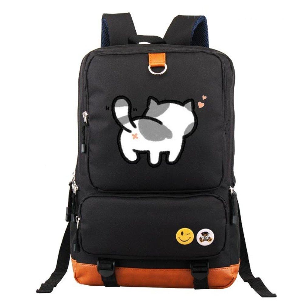 4c4b4a39ff37 YOYOSHome Neko Atsume Anime Cat Backyard Cosplay Shoulder Bag Backpack  School Bag 85%OFF