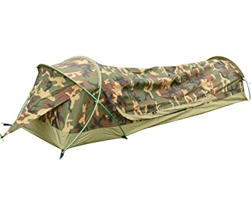 Ultralight 1-Person Waterproof BIVY Tent For C&ing Hiking Hunting - Quick Easy  sc 1 st  Amazon.com & Amazon.com : Ultralight 1-Person Waterproof BIVY Tent For Camping ...