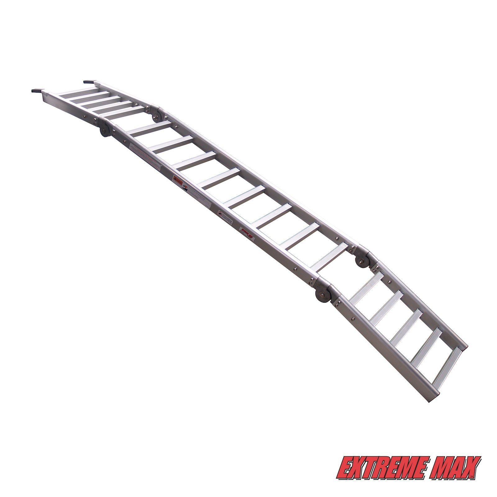 Extreme Max (NR002S-SLVR) Motorcycle RampXtender Aluminum Ramp Set and Tailgate Extender Combo by Extreme Max (Image #7)