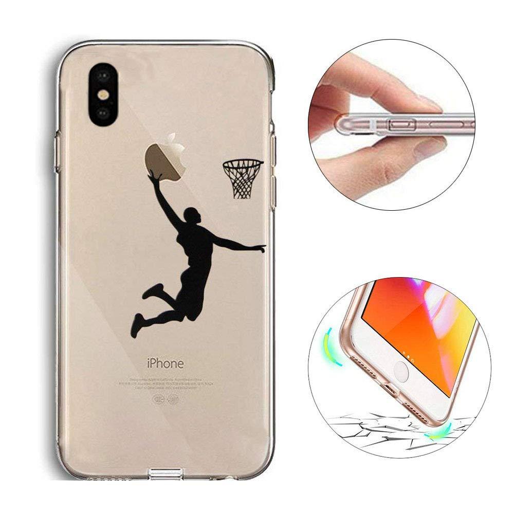 お買い得モデル iPhone - 10ケース iPhone、iPhone X XSケース、KeKeYMソフトTPUジェルラバースキン塗装クリエイティブパターン超軽量透明バックカバーケースfor iPhone 10 X XS X - Playバスケットボール iPhone X/iPhone XS 5.8 インチ バスケットボールをする B07GYV9FWL, 佐久市:ce2a0f47 --- obara-daijiro.com