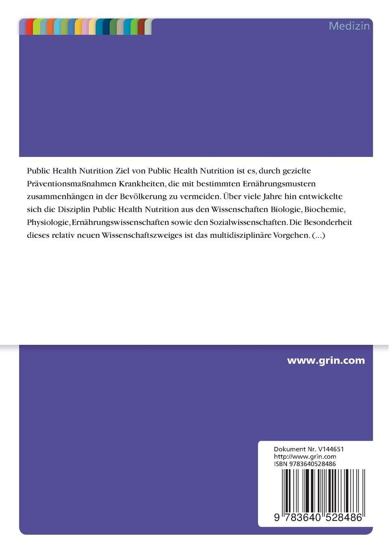 Masterarbeit public health aufbau 2