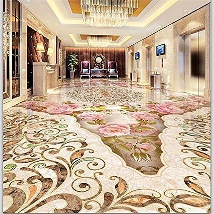 Mbwlkj Wallpaper Custom Floor Painting 3d Stone Pattern