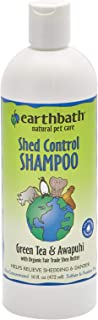 product image for Earthbath All Natural Green Tea Shampoo Shed Control for Pets Dogs Cats 16z