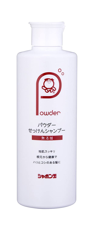 Amazon Shabondama Shampoo Additive Free Powder Soap