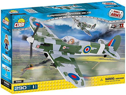 Great Decal Set Planes (COBI Small Army Supermarine Spitfire MK V)