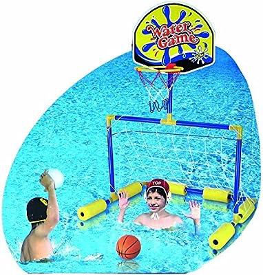 porteria + basket piscina: Amazon.es: Juguetes y juegos