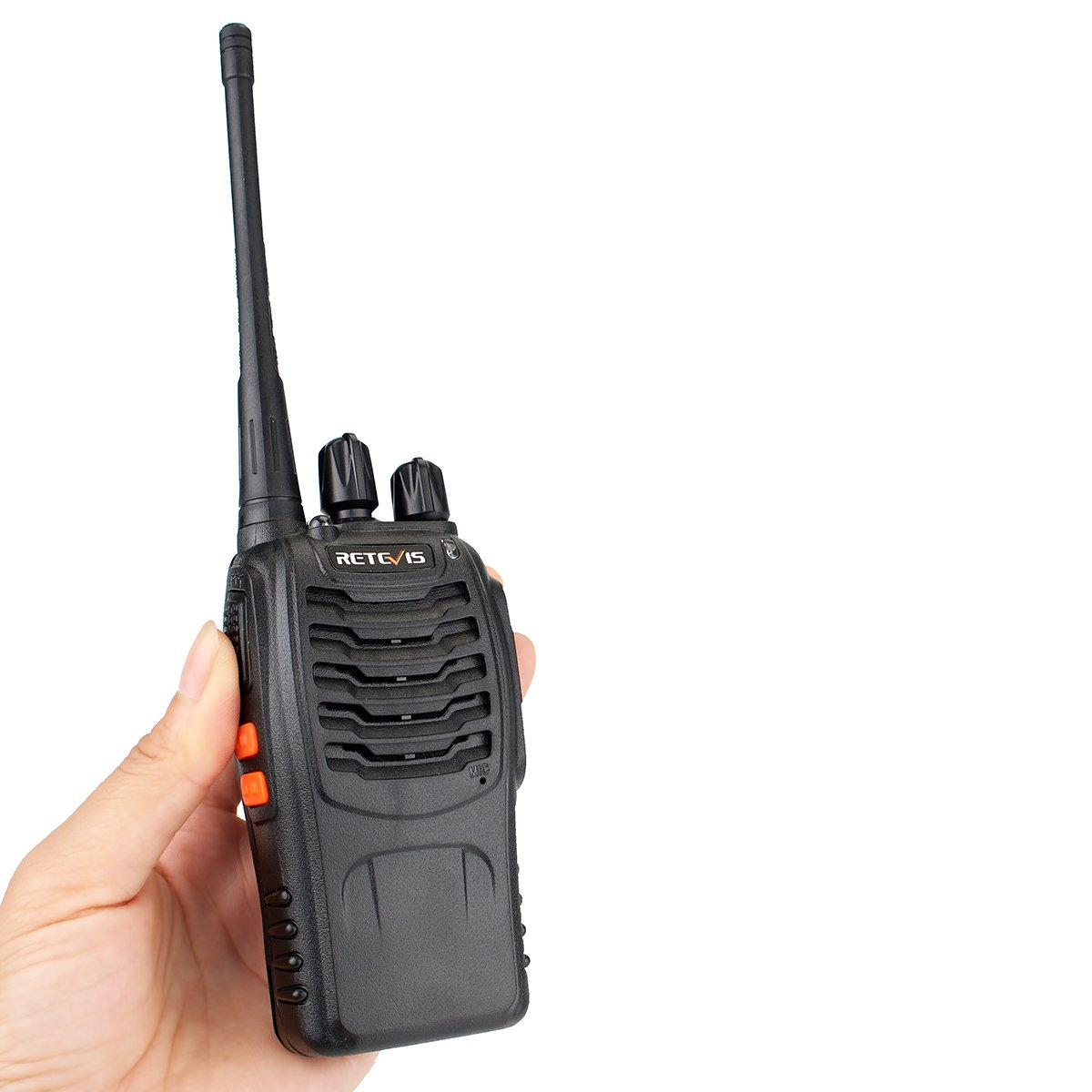 Retevis H-777 Two Way Radio UHF 400-470MHz Signal Frequency Single Band 16 CH Walkie Talkies with Original Earpiece (10 Pack) by Retevis (Image #8)