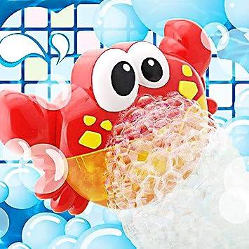 Addmos Juguetes De Baño Maquina De Burbujas 12 Música Y Burbuja