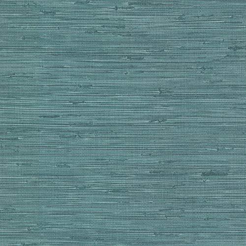 Brewster 2767-24415 Fiber Blue Weave Texture Wallpaper