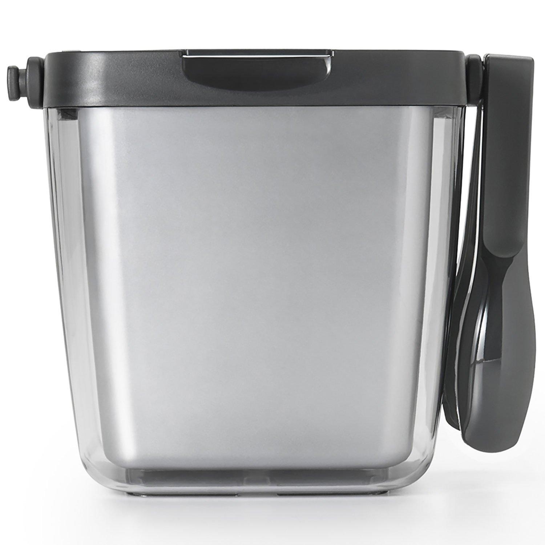 Oxo Good Grips Double Wall Ice Bucket With Tongs And