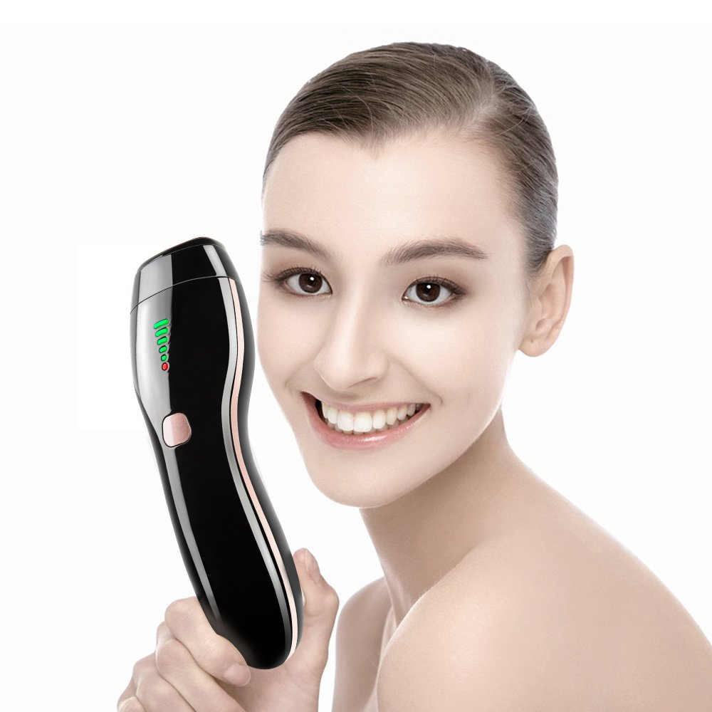 IPL Hair Removal Epilator Skin Rejuvenation Beauty Device with Permanent and Painless, work for Armpit, Arm, Leg, Face for Women Home Use