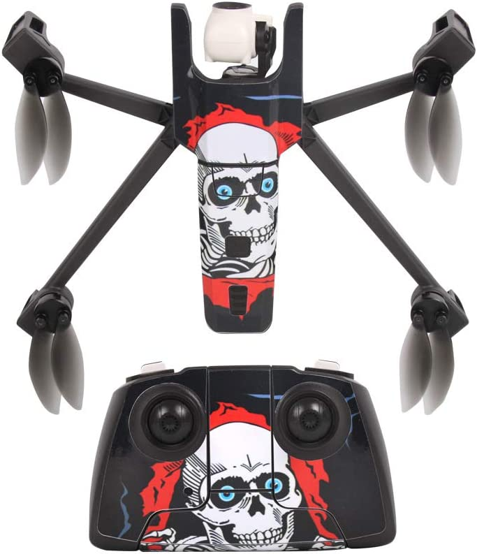 PinShang PVC Stickers Decal for Parrot Anafi and Remote Controlle Camera Drone Decals Body Shell Protection Skin Cover 2