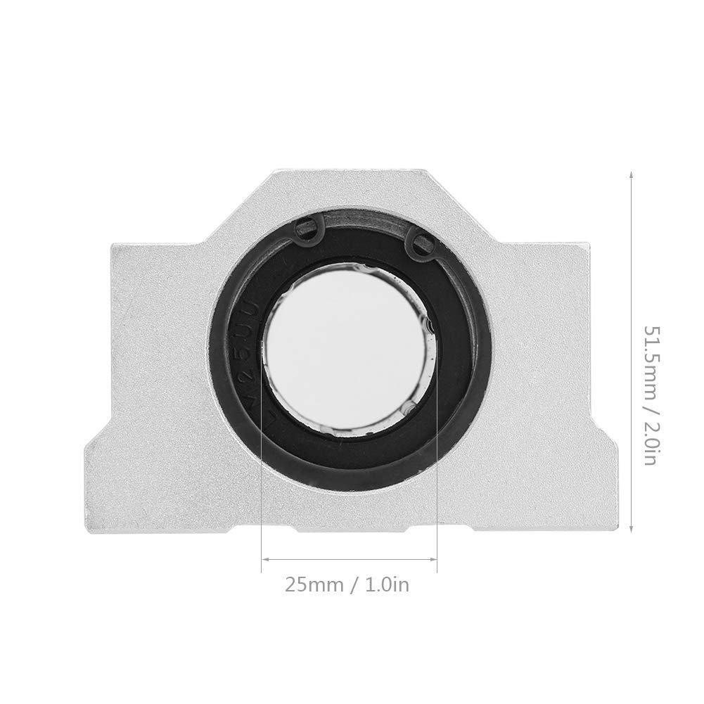 SCS25LUU cojinete de bolas CNC Rodamiento de bolas de movimiento lineal de 25mm