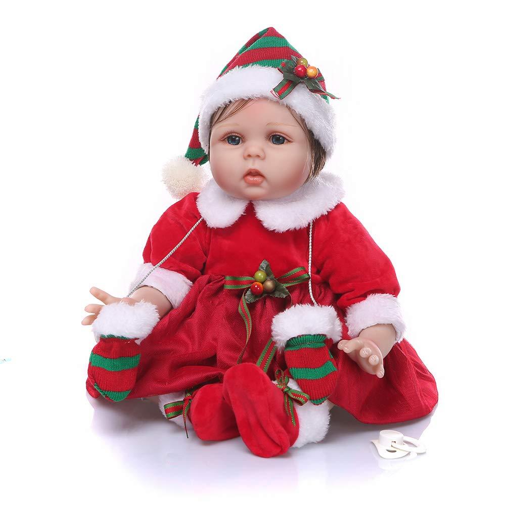 Doll Real Buscando Realista Reborn Bebé Muñeca 21.6 Pulgadas ...