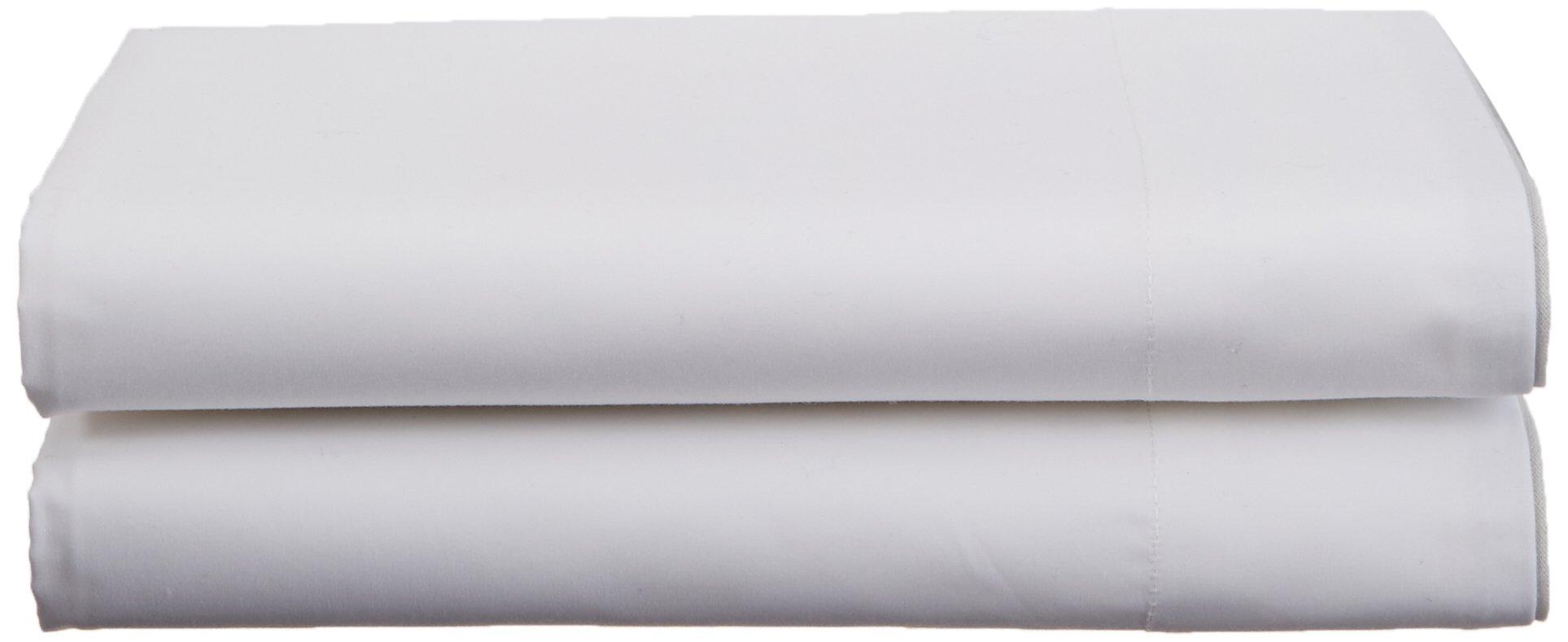 Calvin Klein Home Series 01 Pillowcase, Standard Pair, Grey, 2 Piece