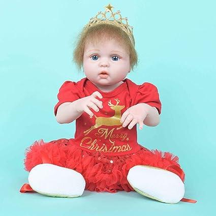 Amazon.com: Lifelike Baby Doll,Lucoo Surprise Baby Reborn ...