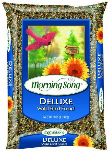 Food Lb Wild 20 Bird (Morning Song 1022046 Deluxe Wild Bird Food Bag, 20-Pound)