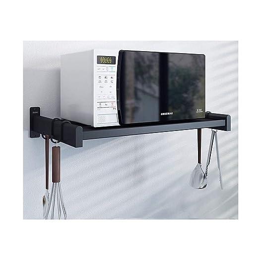 Ansel - Estante para microondas (Aluminio, para Colgar en la ...