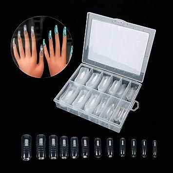 Kit de arte de uñas postizas de cubierta completa ...