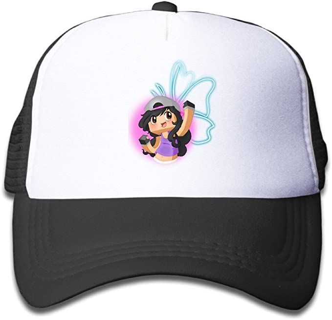 Gsyful - Gorra de béisbol para niños, diseño de Aphmau - Negro ...