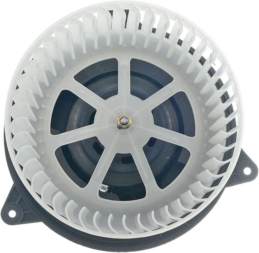 HVAC plastic Heater Blower Motor w//Fan Cage ECCPP for 2010-2013 Ford Transit Connect 2000-2007 Ford Focus 2002-2008 Jaguar X-Type Front