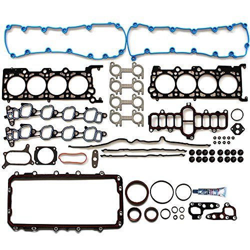 Full Gasket with Head Sets ECCPP Replacement for Automotive Replacement Engine Full Head Gasket Kits for Ford F-150 2002-2003 4.6L V8 SOHC VIN 6 (2003 Ford F 150 Engine Size 4-6 L)