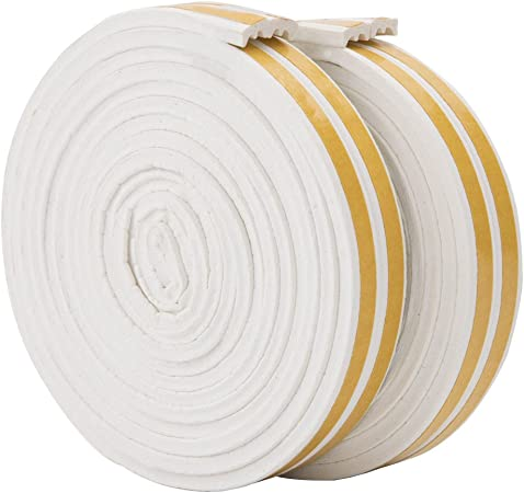 type D Film-Noir 1 5M 10M en caoutchouc pour joint de porte et fen/être Joint de bande en caoutchouc auto-adh/ésif 5M