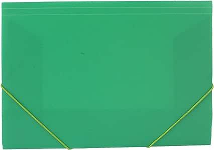 Acan Pack de 4 Carpetas de plástico con Goma Colores Surtidos ...