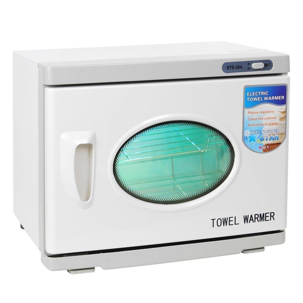 2 en 1 Esterilizador toallas 26L UV Toalla calentador Caliente Gabinete Ultravioleta UV Esterilizador Herramienta Spa Salón Manicura Belleza: Amazon.es: ...