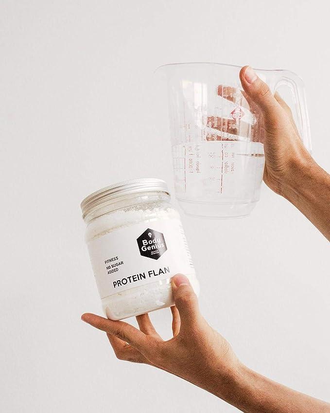 BODY GENIUS Protein Flan (Galleta). 275g. Preparado en polvo para ...