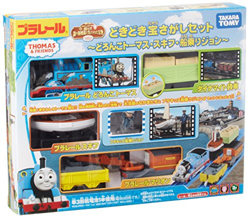 Exciting treasure hunt plarail-mud Thomas skiff sailor Jon- by - Japan Train Rail