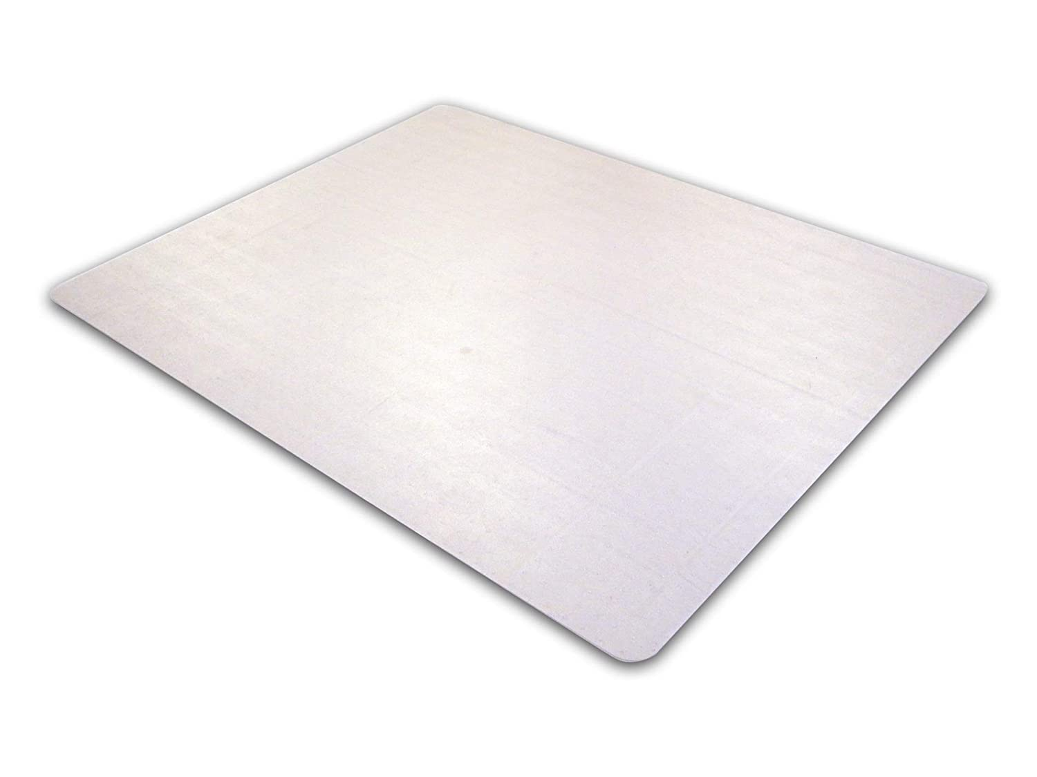 """Floortex Cleartex Advantagemat, Chairmat for Low Pile Carpets (1/4"""" or less), Phthalate-Free PVC, Rectangular, Size 36"""" x 48"""", Clear (FRPF119225EV)"""