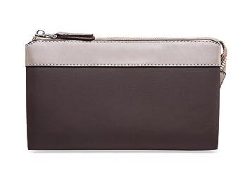 Bolsa de embrague para hombre Cartera de tela de nylon importada Cartera de marca para moda europea y americana (Color : Marrón): Amazon.es: Equipaje