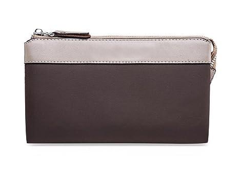 Bolsa de embrague para hombre Cartera de tela de nylon importada Cartera de marca para moda