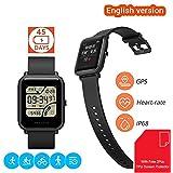 Xiaomi Amazfit Bip Smartwatch Reloj Inteligente [Ligero 32G] 45 Días en Espera Bluetooth con