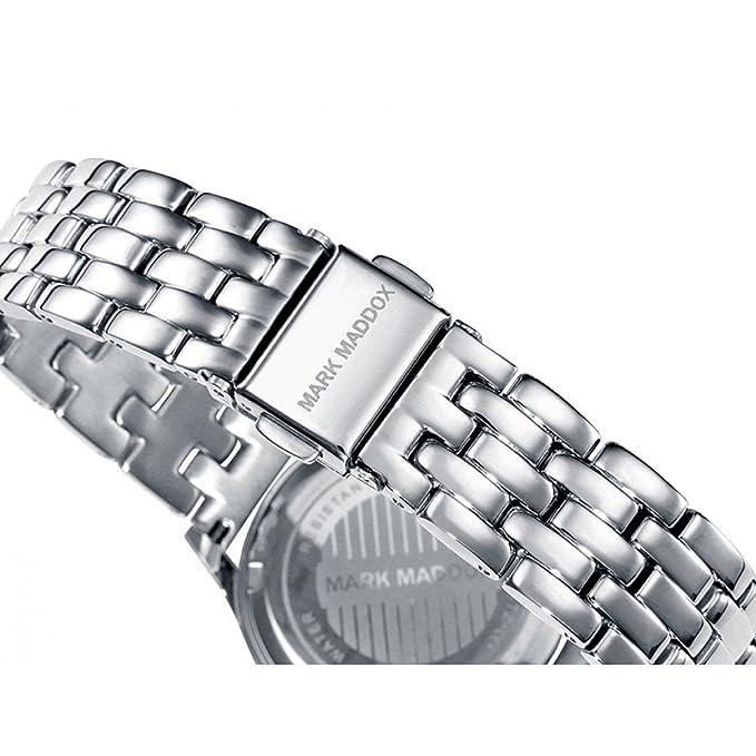 97 Edelstahl Damen Mit Uhr Maddox Analog Quarz Mark Mm7011 Armband VUzMLGqpS