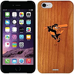 fashion case iphone 5s Madera Wood Thinshield Case with Baltimore Orioles Mascot Design