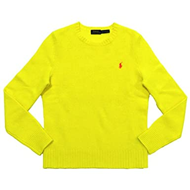 507d4bdc8 Image Unavailable. Image not available for. Color  Polo Ralph Lauren Womens  Crew Neck Wool Cashmere Sweater ...
