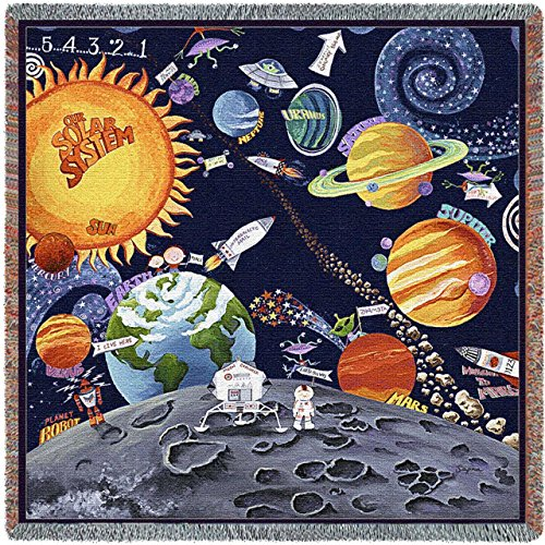 Solar System Small Blanket by Pure Country