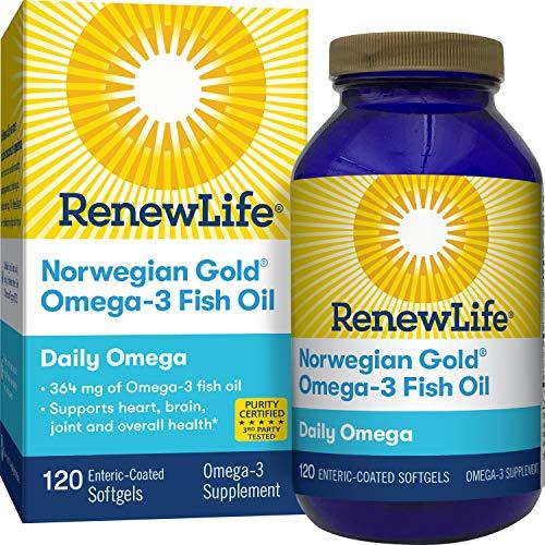 Renew Life Norwegian Softgel Capsules