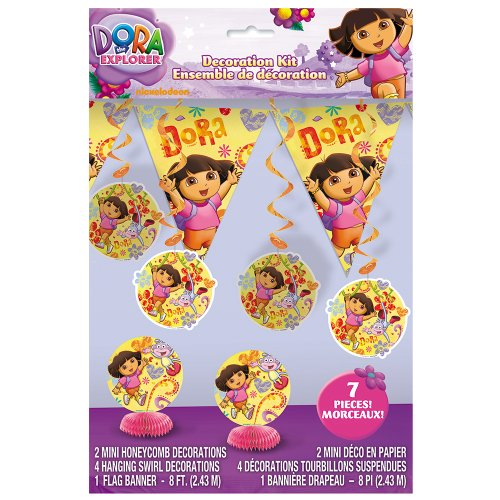 Jeanie Costumes (Dora the Explorer Party Decoration Kit, 7pc)