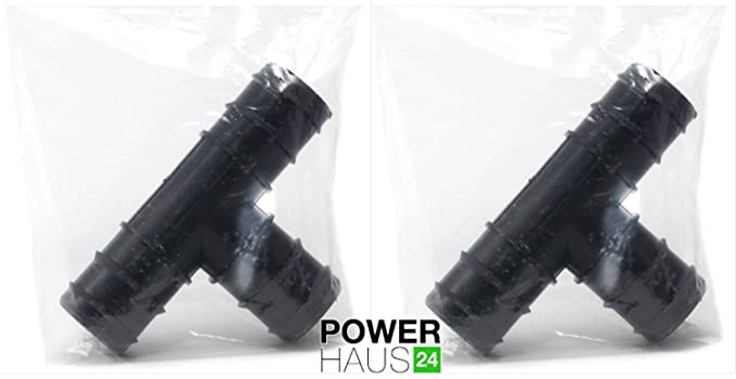 Power HAUS24/ 2/ x T-Piece Hose Connector with 3/ x 38/ mm 6//4